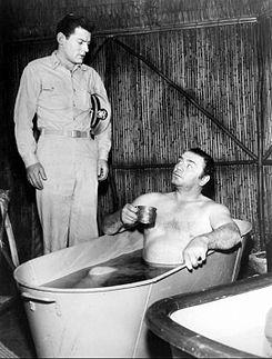 Ernest Borgnine McHale Seven Against la Maro 1962.JPG
