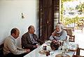 Ernest Hemingway dining at La Consula, 1959.jpg