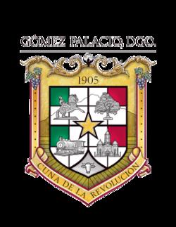 Escudo de armas de Gómez Palacio, Durango.png
