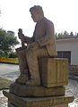 Escultura concello Frades 07.JPG