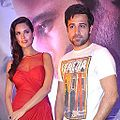 Esha and Emraan at success bash of 'Jannat 2'.jpg