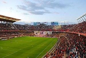 Estadio Ram%C3%B3n S%C3%A1nchez Pizju%C3%A1n Preferencia-Gol Norte-Fondo-2007-04-05