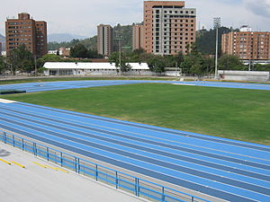 1996 Ibero-American Championships in Athletics - The host stadium shown in 2010.