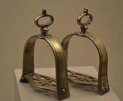 Estribos argentinos de plata. Museo de América.jpg
