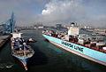 Eugen Maersk and Maersk Palermo (6953649940).jpg