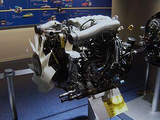 Mazda Wankel engine - Eunos Cosmo engine at the Mazda Museum