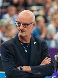 Henrik Dettmann Finnish basketball coach