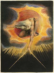 William Blake's The Ancient of Days, frontispiece to Europe a Prophecy; 1794.[118]