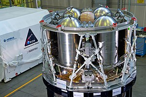 Orion Service Module - Structural test article for the Service Module, delivered to NASA in November 2015
