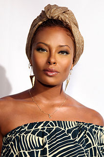 Eva Marcille American actress, TV host and fashion model,
