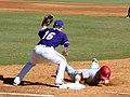 Evansville at Arkansas baseball, 2013 019.jpg