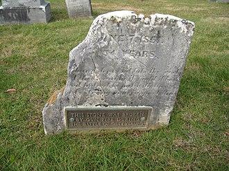 Evergreen Cemetery (Adams County, Pennsylvania) - Image: Evercemadams culp