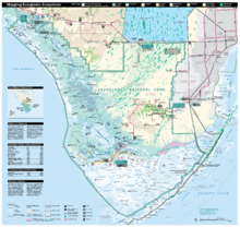 Everglades national park wikipedia map of everglades national park publicscrutiny Image collections