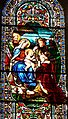 Excideuil église vitrail (8).JPG
