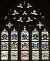 Exeter Cathedral, Stained glass window (36080426753).jpg