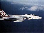 F-14A Tomcat of VF-111 in flight in 1983.jpg