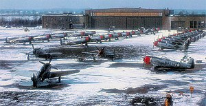 86th Airlift Wing - F-47D's of the 526th Fighter Squadron at Neubiberg Air Base