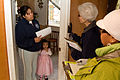 FEMA - 39899 - FEMA Community Relations workers speak with residents in Washington.jpg