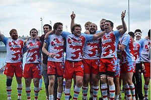 Luxembourg national rugby union team - Lions on fire!!!