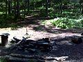 FLT M31 8.1 mi - Designated bivouac 4 N of Alder Lake, nearby piped spring - panoramio.jpg