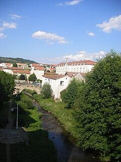 Langogne Commune in Occitanie, France