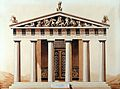 Facade of temple of Aesculapius at Epidaurus Wellcome L0016949.jpg
