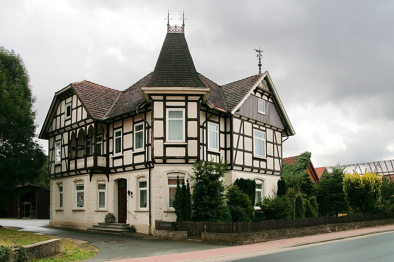 datei fachwerkhaus in landesbergen img 0851 jpg wikipedia. Black Bedroom Furniture Sets. Home Design Ideas
