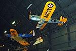Fairchild PT-19A Cornell, Schneider Schulgleiter SG 3B and Ryan YPT-16, National Museum of the US Air Force, Dayton, Ohio, USA. (29829612797).jpg