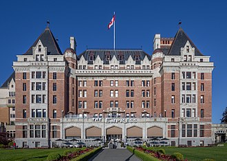 Monarchy in British Columbia - Image: Fairmont Empress, Victoria, British Columbia, Canada 08