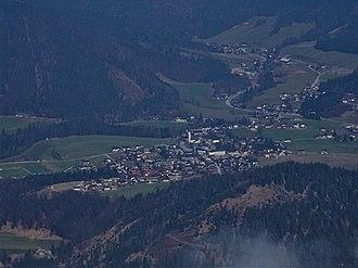 Faistenau - Image: Faistenau vom Eibleck