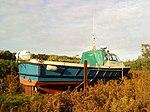 Faldore ashore for winter.JPG