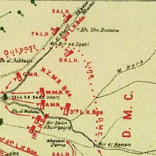 Battle of Beersheba 1917 Wikipedia