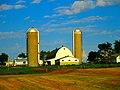 Farm with Two Silos - panoramio (11).jpg