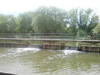 Feildes Weir - Side drops