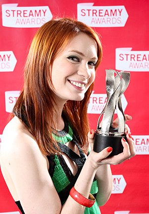 Felicia Day - Image: Felicia Day Streamy Awards 2009 (05)