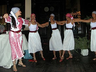 Dabke - Women dabke dancers