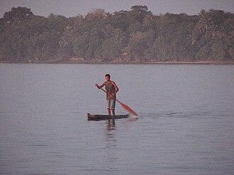 Fenualoa - Image: Fenualoa canoe