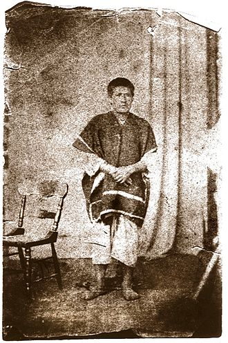 Puruhá - Picture of nineteenth century rebel, and Puruhá, Fernando Daquilema