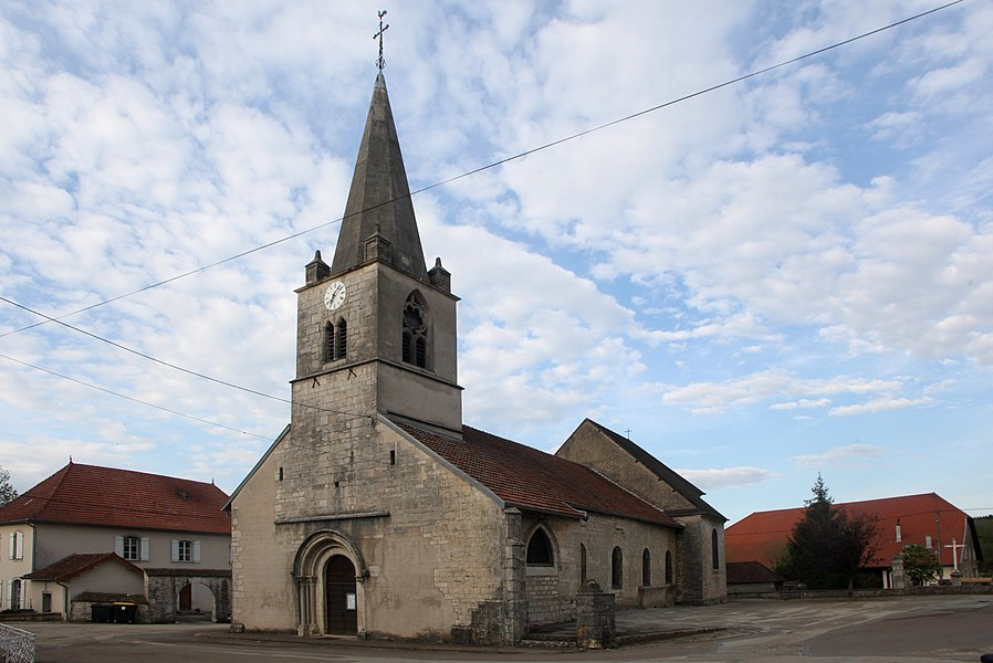 Église de Fertans (Doubs).