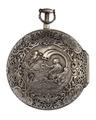 Fickur med boett av silver med dekor, 1700-tal - Hallwylska museet - 110444.tif