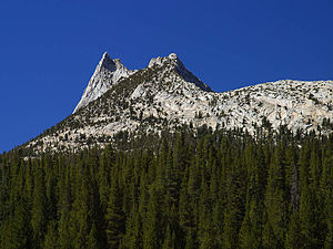 Cathedral Peak im Yosemite-Nationalpark