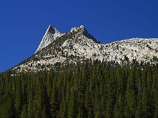 Cathedral Peak (California) mountain in Yosemite National Park, California