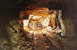 Combe Down - Inside the Combe Down quarry