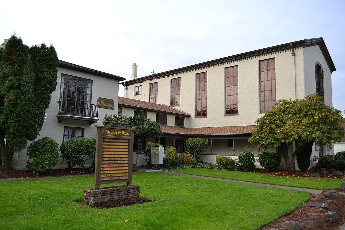 First congregational church eugene oregon wikipedia for Architects eugene oregon
