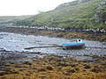 Fishing boat beached in Borosdale Bay - geograph.org.uk - 1522745.jpg