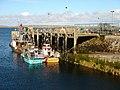 Fishing boats at Leverburgh pier - geograph.org.uk - 1035375.jpg