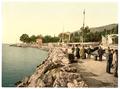 Fiume, the Mole, (i.e, Molo), Croatia, Austro-Hungary WDL326.png