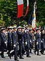Flag guard ESSA Bastille Day 2007.jpg