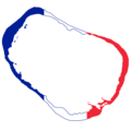 Flag map of Clipperton Island (French flag).png