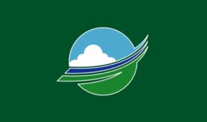 Ōzora, Hokkaido - Image: Flag of Ozora Hokkaido